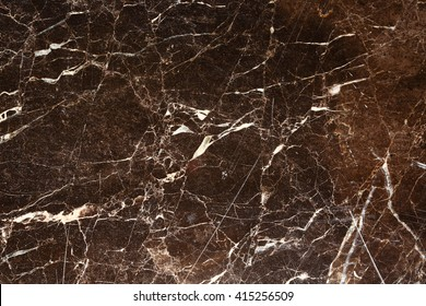Dark brown marble pattern for background and texture.