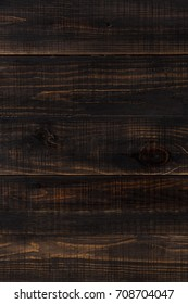 dark brown wood background made of planks