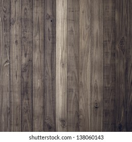 Dark Brown wood plank wall texture background