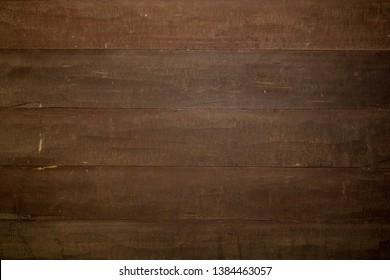 Dark brown wood wall background 2019. Wood texture background, wood planks.