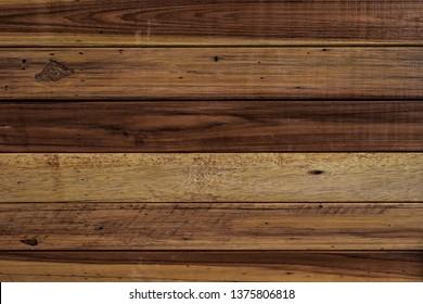 Dark brown wooden texture, old wood planks.