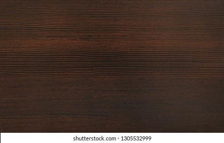 Dark brown wooden texture, wenge wood background
