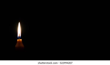 Dark Candle Light