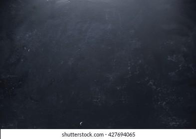 Dark chalkboard, blackboard background texture