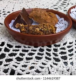 dark chokolate candies sweet dessert