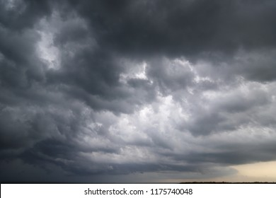 dark clouds and storm, weather