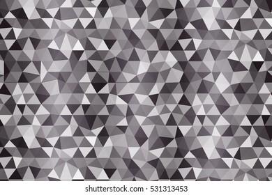 dark color polygonal background. Raster copy illustration. multi color. for idea design, business, presentation, wallpaper