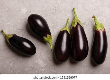 dark eggplant on a dark background