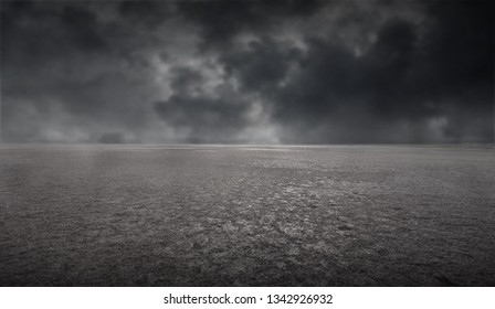 Dark empty cloudy background