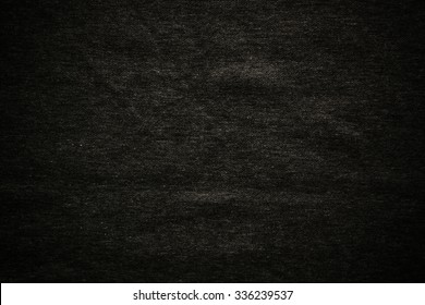 Dark fabric background or pattern