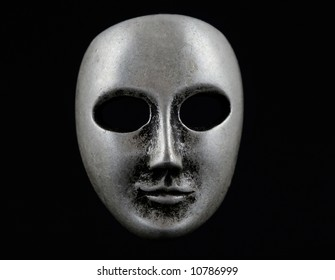 Dark face mask