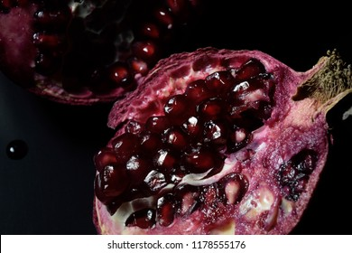 Dark Food pomegranate