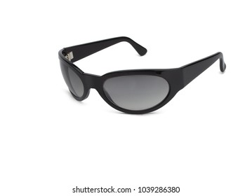 dark glasses white background