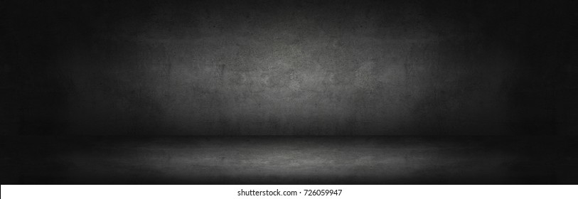 dark and gray abstract  cement wall and studio room gradient background  - Shutterstock ID 726059947