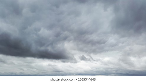 dark gray clouds - gloomy sky