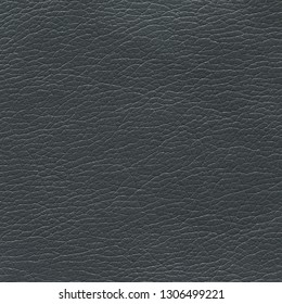 Dark gray leather textured background. Vintage fashion background for designers and composing collages. Luxury textured genuine leather of high quality.