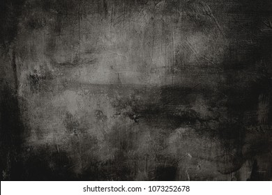 dark gray painting background or texture