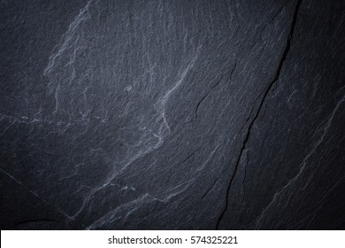 Dark gray slate texture, abstract background