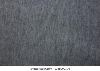 Dark gray sweatpants texture background conception
