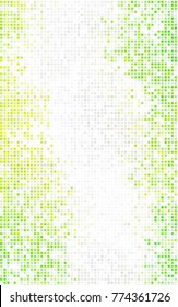 Dark Green abstract textured polygonal background. Blurry rectangular design. The pattern with repeating rectangles can be used for background.