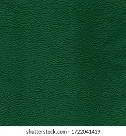 Dark green detailed background texture of leather