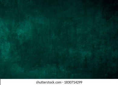Dark green wall background or texture