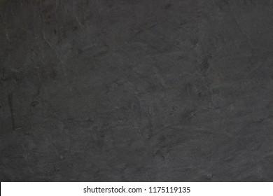 Dark grey black slate background or texture. Surface stone