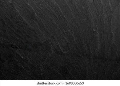 Dark grey black slate background or texture