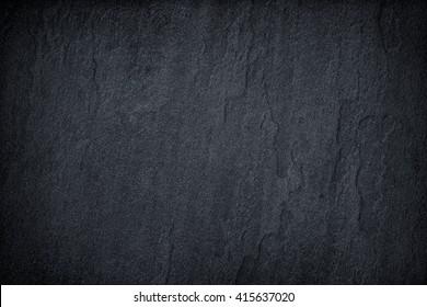 Dark grey black slate background or texture. - Shutterstock ID 415637020