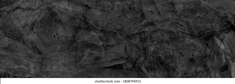 Dark grey black slate marble background or marbel texture, natural Portoro background with high resolution, luxurious glossy stone texture for digital wall and floor tiles, emperador granite tile.