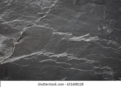 Dark grey and black slate texture or background for product design