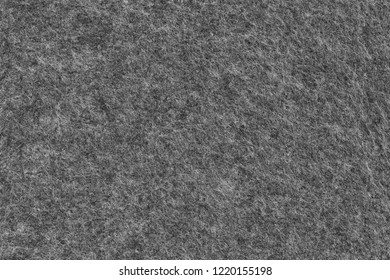 Dark Grey Board Made of Roughly Felted Fabric - Background