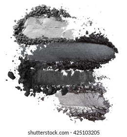 dark grey eyeshadow