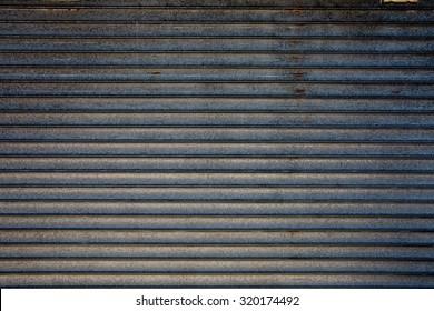 Dark grey metal background - old and vintage