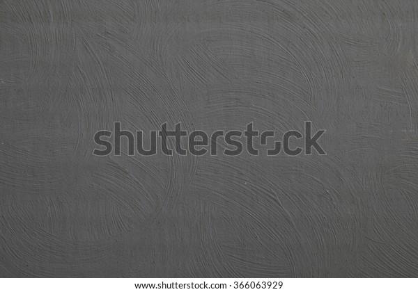 Dark Grey Textured Background Acrylic Paint Stock Photo