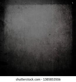 Dark grunge scratched background, old film effect, messy obsolete texture