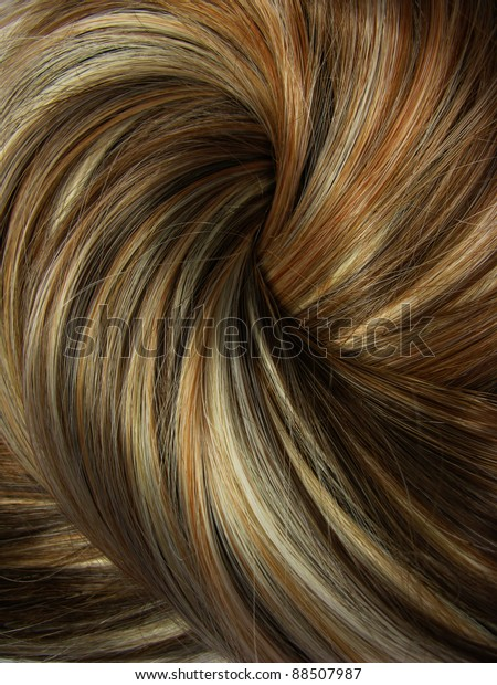 Dark Highlight Hair Texture Abstract Background Stockfoto ...