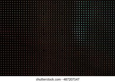 Dark lighting LED TV display big screen panel seamless