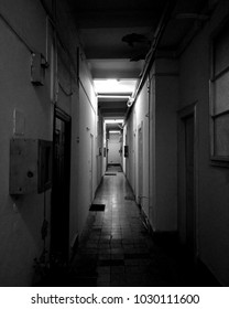 dark and long corridor