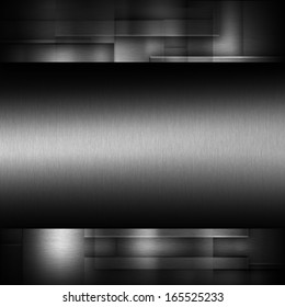 Dark metal texture background for use in various applications and design products