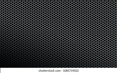 Dark metallic mesh texture background