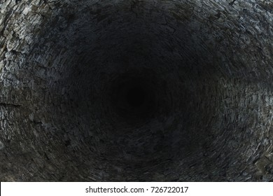 dark and mystical abyss on the well