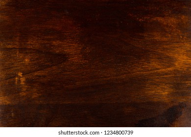 Dark and old wooden background.