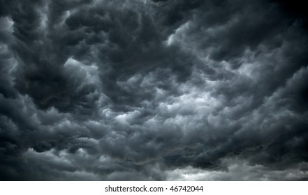Dark, Ominous Rain Clouds