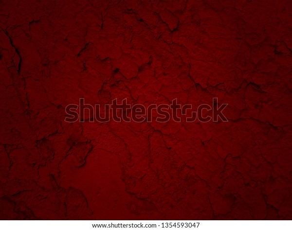 Dark Paint Textured Wall Closeup Red Stock Photo Edit Now