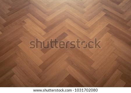 Dark Parquet Floor Wooden Floor Parquet Stock Photo Edit Now