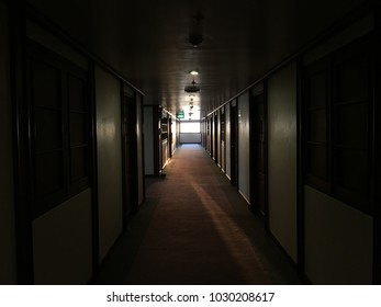 Dark Passage in a Building