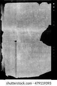 Dark photocopy texture with grunge paper edge border