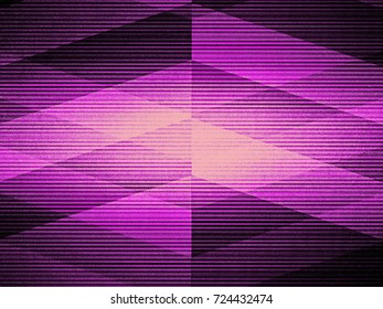 Dark pink background. Geometric pattern.