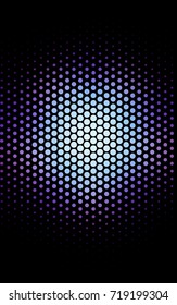Dark Pink, Blue abstract pattern with circles. Geometry template for your business design. Background with colored spheres.